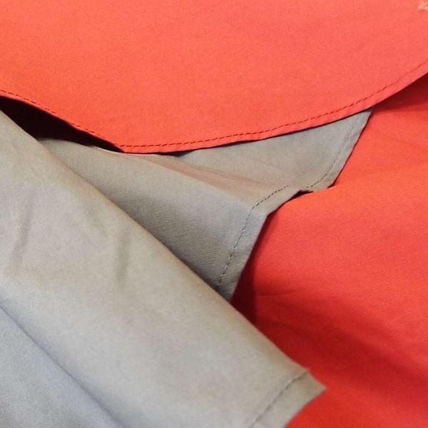スカート フレアー ロング 配色 バイカラー ランダム コットン Aライン 秋 冬 レディース 通勤 30代 40代 50代 0022a|visage-souriant1208|06