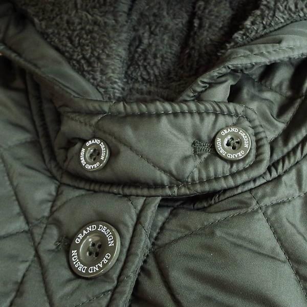 コート 冬 キルティング 中綿 ロングコート 130k visage-souriant1208 04