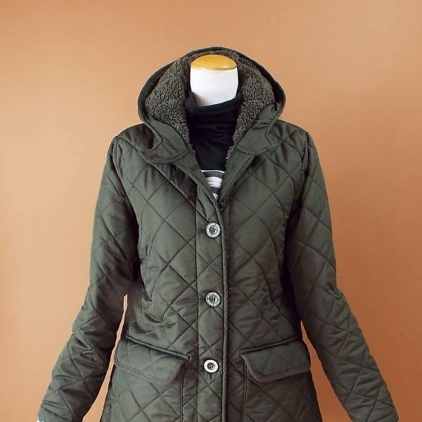 コート 冬 キルティング 中綿 ロングコート 130k visage-souriant1208 06