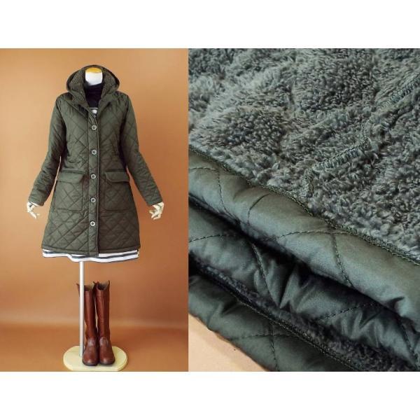 コート 冬 キルティング 中綿 ロングコート 130k visage-souriant1208 09
