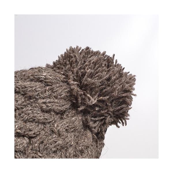 ニット帽 秋冬 帽子 レディース なわ編み chi001|visage-souriant1208|04