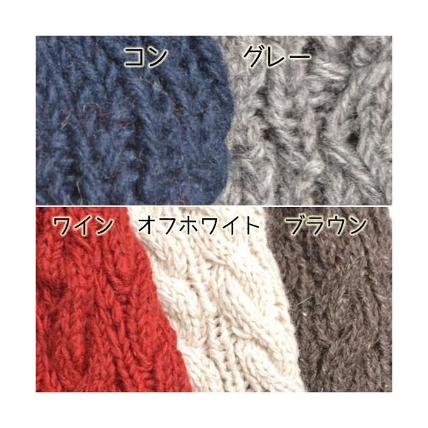 ニット帽 秋冬 帽子 レディース なわ編み chi001|visage-souriant1208|06