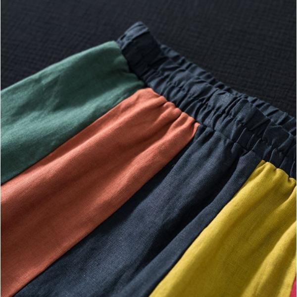 スカート Aライン カラフル レディース きれいめ 40代 50代  s1237|visage-souriant1208|03