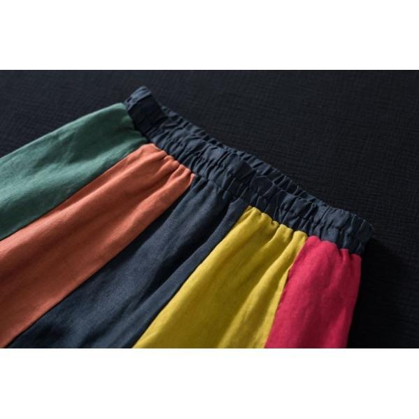 スカート Aライン カラフル レディース きれいめ 40代 50代  s1237|visage-souriant1208|05