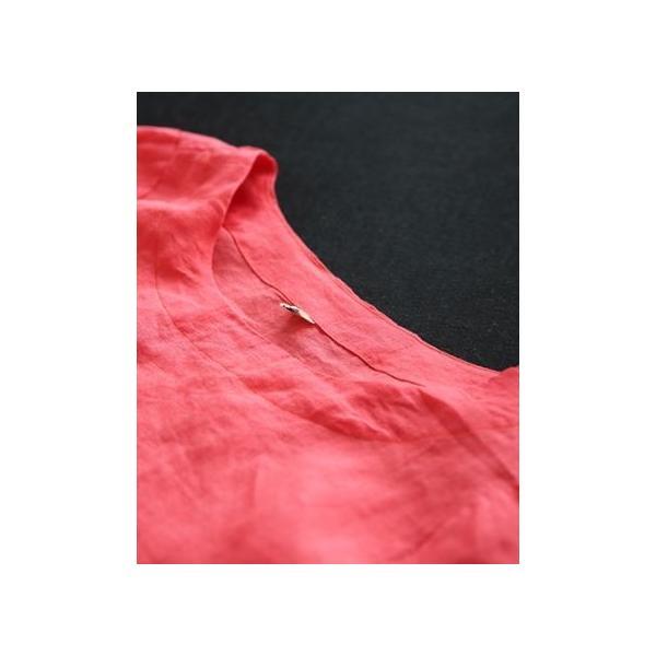 シャツ レディース レース 刺繍 リボン 大人 夏 40代 50代 s1243|visage-souriant1208|16