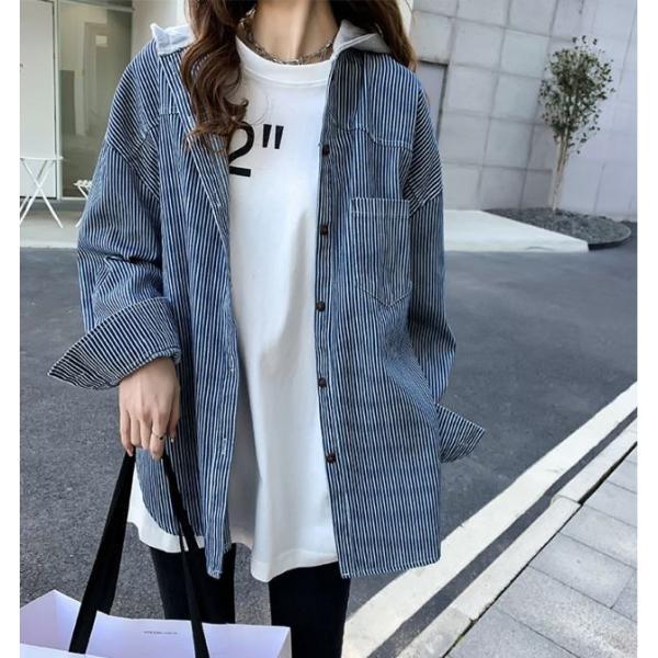 シャツ レディース おしゃれ 大人 夏 羽織り パーカー 40代 50代 s1263|visage-souriant1208|02