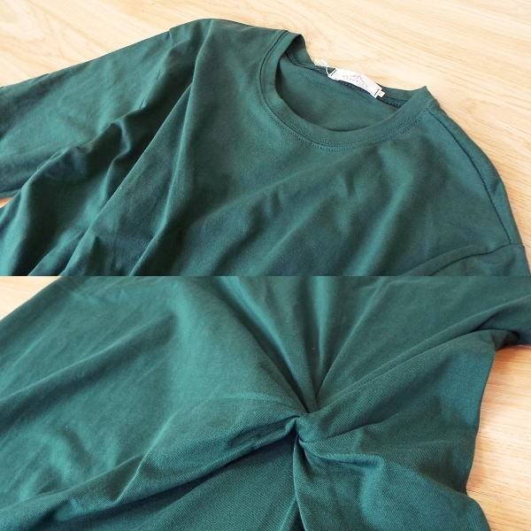 ワンピース レディース 半袖 ロング 夏 大きいサイズ きれいめ 40代 50代  s2096|visage-souriant1208|10