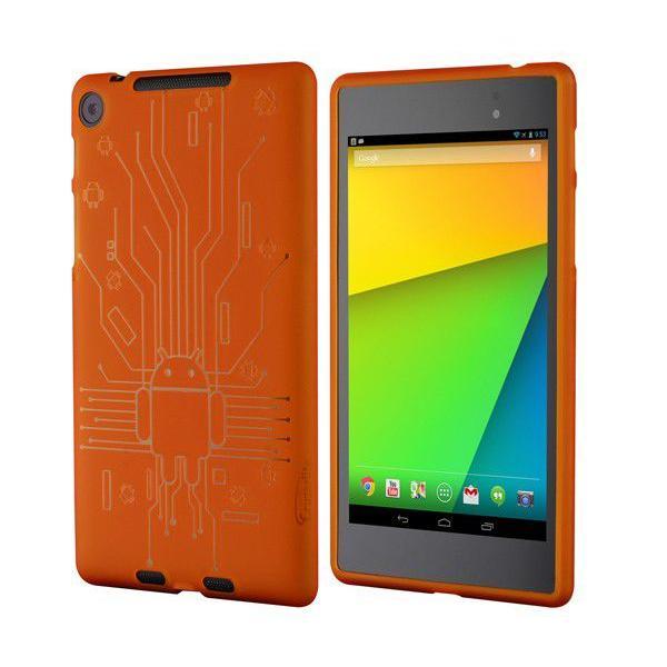 ネクサス7 TPUケースCruzerlite Bugdroid Circuit Case for Nexus 7 (2013)