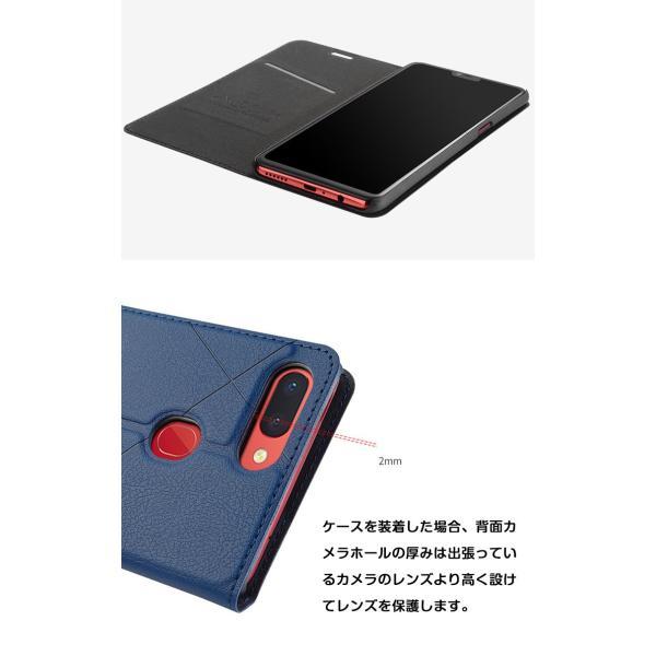 OPPO R17 Neo R17 Pro R15 Neo AX7 ケース オッポ  手帳型 レザー おしゃれ ケース CASE 持ちやすい 汚|visos-store|04