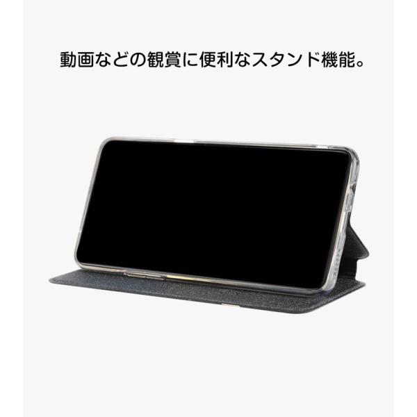 OPPO R17 Pro R15 Neo ケース オッポ  手帳型 レザー おしゃれ ケース CASE 持ちやすい 汚れ防止 スタンド機能 便 visos-store 04
