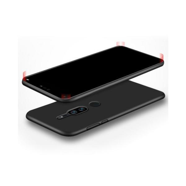 SONY Xperia XZ2 Premium ケース ソフトカバー  シンプル エクスぺリア 傷やほこりから守る 耐衝撃 軽|visos-store|03