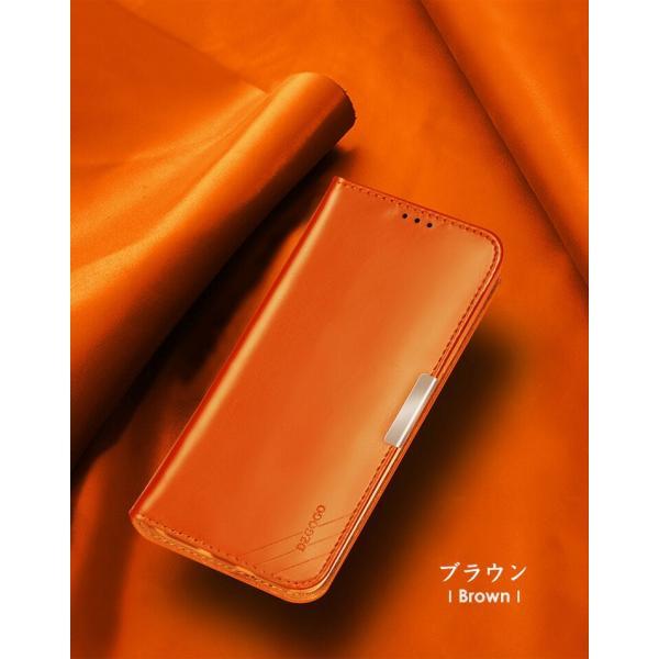 SONY Xperia XZ2 XZ2 Premium 手帳型 レザー おしゃれ ケース エクスぺリアXZ2 / SO-03K|visos-store|07