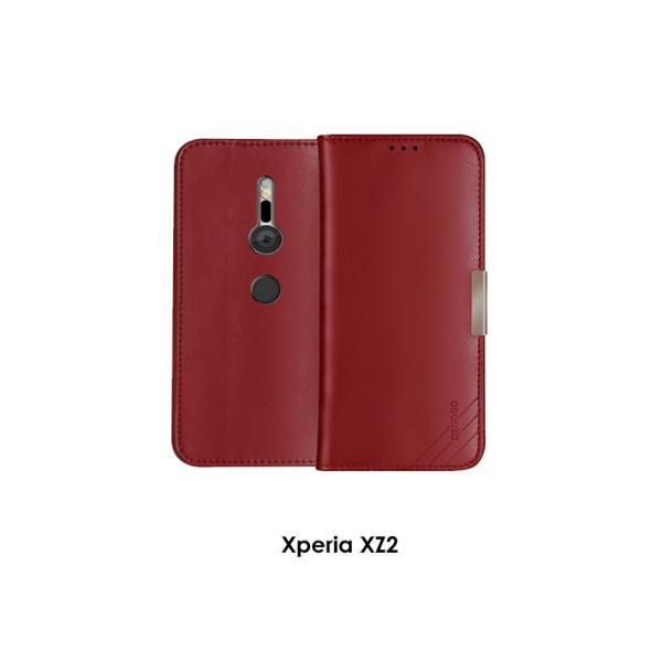 SONY Xperia XZ2 XZ2 Premium 手帳型 レザー おしゃれ ケース エクスぺリアXZ2 / SO-03K|visos-store|10