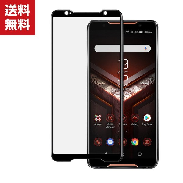 ASUS ROG Phone ZS600KL  ガラスフィルム 強化ガラス 液晶保護 ゼンフォン HD Film ガラスフィルム 保護フィルム|visos-store