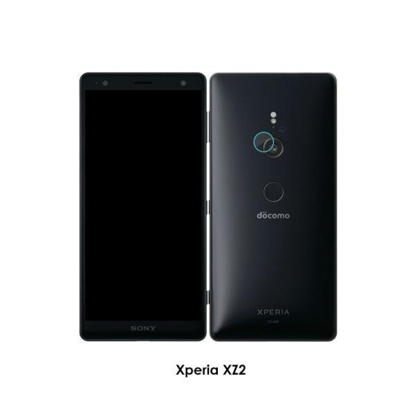 SONY Xperia XZ2 XZ XZS Compact Premium XZ3 カメラレンズ用 強化ガラス エクスぺリア 防御力 ガラスシート レンズ保護ガラスフィルム|visos-store|03