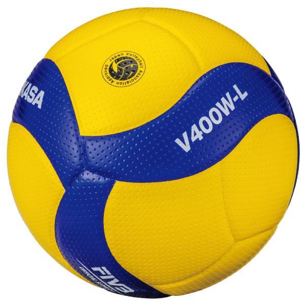 4号 検定球 ミカサ ジュニア キッズ 小学生 2020年度全日本バレーボール小学生大会公式試合球 V400W-L バレーボール 小学校用 4号軽量球 V400WL