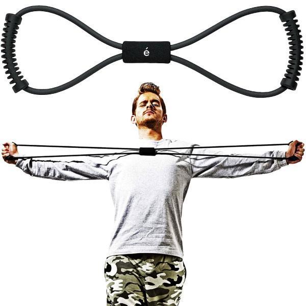 サクライ貿易 メンズ erugam トレーニングチューブ 男性用 筋トレの時間だよ ハード スポーツ用具 全身運動 フィットネス エクササイズ 体幹 筋肉 54148