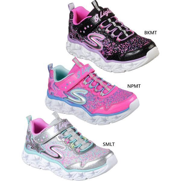 スケッチャーズ ジュニア キッズ ギャラクシー ライツ GALAXY LIGHTS スニーカー シューズ 運動靴 女の子 光る靴 ゴム紐 10920L vitaliser 02