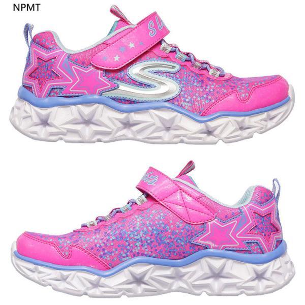 スケッチャーズ ジュニア キッズ ギャラクシー ライツ GALAXY LIGHTS スニーカー シューズ 運動靴 女の子 光る靴 ゴム紐 10920L vitaliser 05