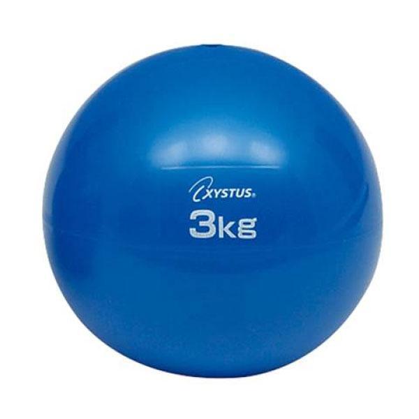 3kg トーエイライト メンズ レディース ソフトメディシンボール スポーツ用具 トレーニング リハビリ ウエイトボール 筋トレ 運動 ダイエット おもり H7252