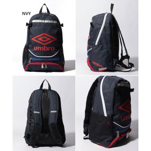 UMBRO×サカママ アンブロ ジュニア キッズ リュックサック デイパック バックパック ザック 鞄 サッカーバッグ サカママ コラボ商品 UJS1635J|vitaliser|03