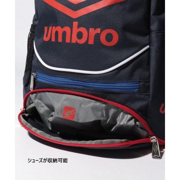 UMBRO×サカママ アンブロ ジュニア キッズ リュックサック デイパック バックパック ザック 鞄 サッカーバッグ サカママ コラボ商品 UJS1635J|vitaliser|05