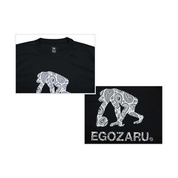 EGOZARU/エゴザル 定番ロゴ(ペイズリー柄) ロング Tシャツ (EZLT-1701)|vitamina|03