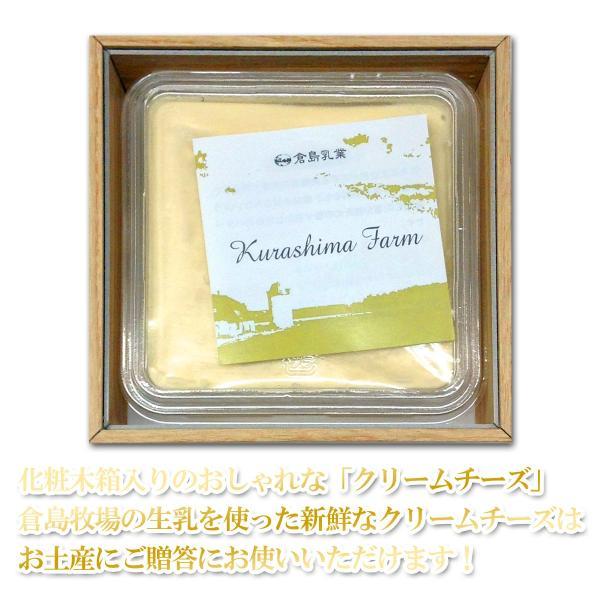 倉島牧場 オリジナル クリームチーズ 225g 化粧木箱入り クリームチーズ チーズ 倉島牧場 ギフト|vitaminshop-anzendo|02