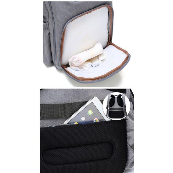 リュックサック リュック メンズ レディース 軽量 アウトドア バッグ ビジネスバッグ 大容量 カジュアル バックパック 通勤 通学 出張 撥水加工 旅行|viva-v1|14