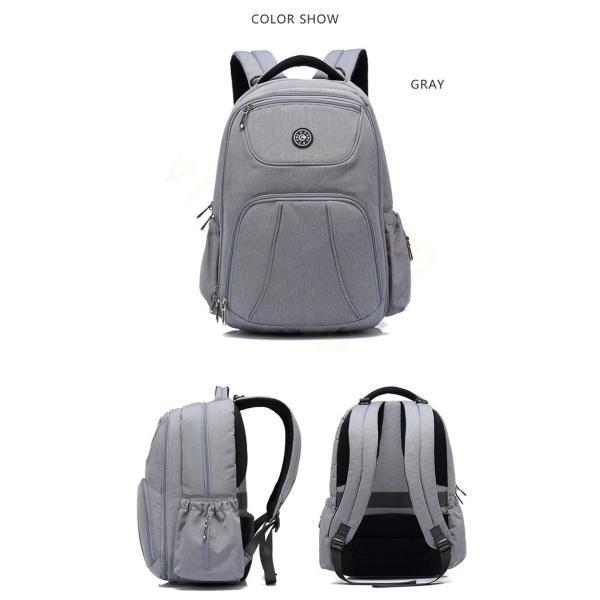 リュックサック リュック メンズ レディース 軽量 アウトドア バッグ ビジネスバッグ 大容量 カジュアル バックパック 通勤 通学 出張 撥水加工 旅行|viva-v1|04