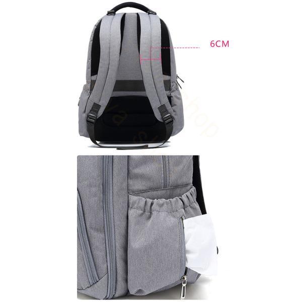 リュックサック リュック メンズ レディース 軽量 アウトドア バッグ ビジネスバッグ 大容量 カジュアル バックパック 通勤 通学 出張 撥水加工 旅行|viva-v1|09