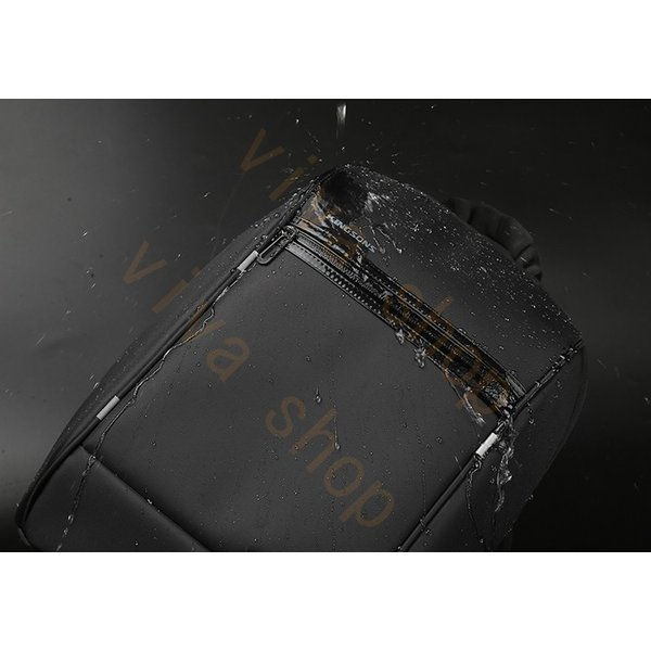 ボディーバッグ ビジネスバッグ ショルダーバッグ メンズ レディース 大容量 多機能 斜め掛け 学生 通学 通勤 旅行 撥水加工 アウトドア 軽量 USB充電ポート|viva-v1|15