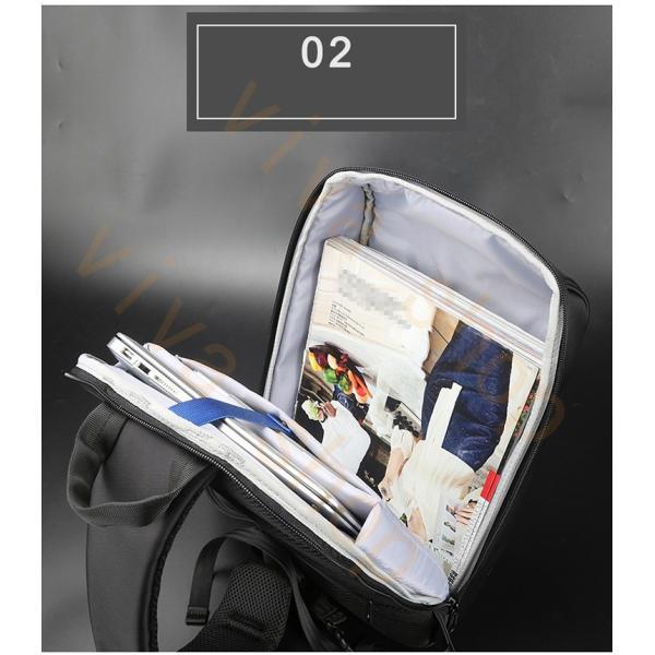 ボディーバッグ ビジネスバッグ ショルダーバッグ メンズ レディース 大容量 多機能 斜め掛け 学生 通学 通勤 旅行 撥水加工 アウトドア 軽量 USB充電ポート|viva-v1|07