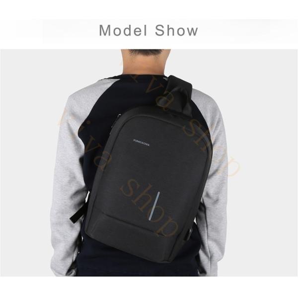 ボディーバッグ ビジネスバッグ ショルダーバッグ メンズ レディース 大容量 多機能  斜め掛け 学生 通学 通勤 旅行 撥水加工 アウトドア 軽量 USB充電ポート