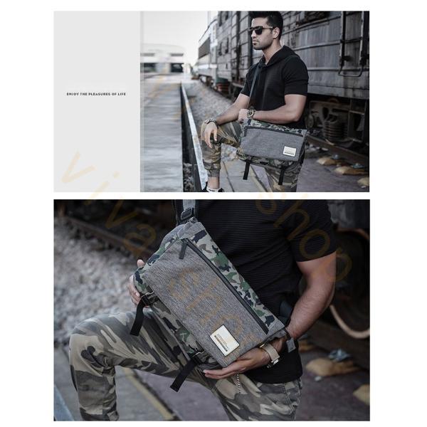メッセンジャーバッグ メンズ ショルダーバッグ レディース ボディバッグ 斜めがけバッグ 鞄 自転車 通勤 通学 軽量 大容量 アウトドア|viva-v1|09