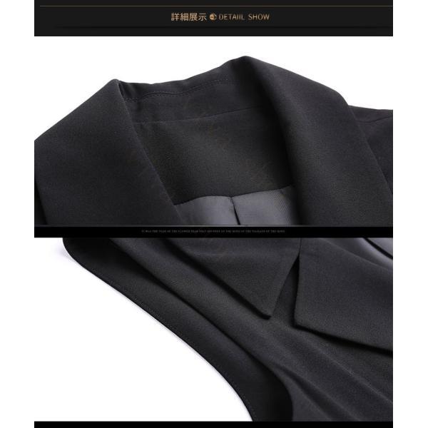 レディース ペチコート ドレス 春 トップス ノースリーブ 秋 コート アウター 膝丈 シックパーティードレス お呼ばれ 披露宴 通販 人気 おすすめ|viva-v1|10