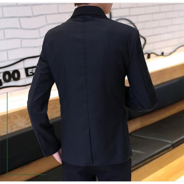 テーラードジャケット メンズ テーラード ジャケット ブレザー スーツ チェック柄 長袖 ビジネス 紳士用 通勤 アウター jacket 細身 春 秋 viva-v1 06
