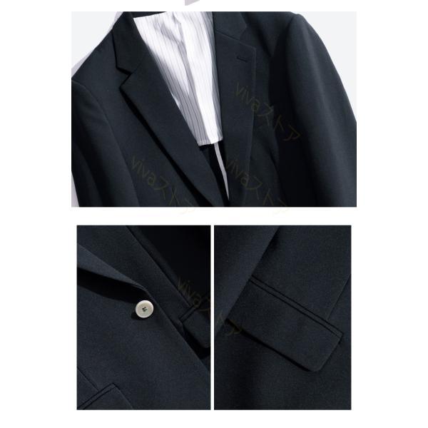 ジャケット メンズ テーラード ジャケット 夏 ブレザー サマー テーラード 長袖 ビジネス 紳士用 通勤 カジュアル アウター jacket 細身 春 秋 viva-v1 15
