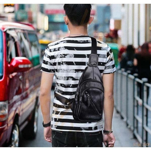 ボディバッグ ショルダーバッグ メンズ レディース 多機能 斜め掛け 通学 ウエストポーチ  レザー 通勤 旅行 バッグ レザー 出張 大人 ビジネス