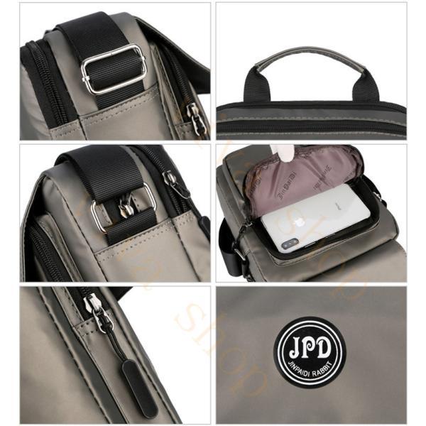 swisswin ショルダーバッグ ビジネスバッグ 大容量 メンズ バッグ レディース 斜めがけバッグ ミニショルダーバッグ 撥水 アウトドア 旅行 通勤 パック 予約販売 viva-v1 13