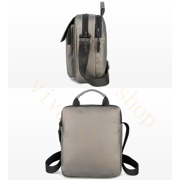 swisswin ショルダーバッグ ビジネスバッグ 大容量 メンズ バッグ レディース 斜めがけバッグ ミニショルダーバッグ 撥水 アウトドア 旅行 通勤 パック 予約販売 viva-v1 07