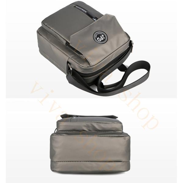 swisswin ショルダーバッグ ビジネスバッグ 大容量 メンズ バッグ レディース 斜めがけバッグ ミニショルダーバッグ 撥水 アウトドア 旅行 通勤 パック 予約販売 viva-v1 08