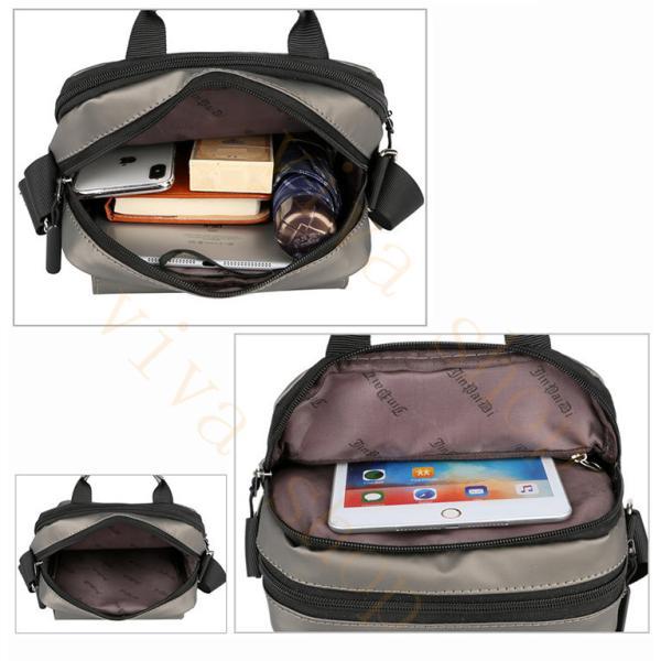 swisswin ショルダーバッグ ビジネスバッグ 大容量 メンズ バッグ レディース 斜めがけバッグ ミニショルダーバッグ 撥水 アウトドア 旅行 通勤 パック 予約販売 viva-v1 09