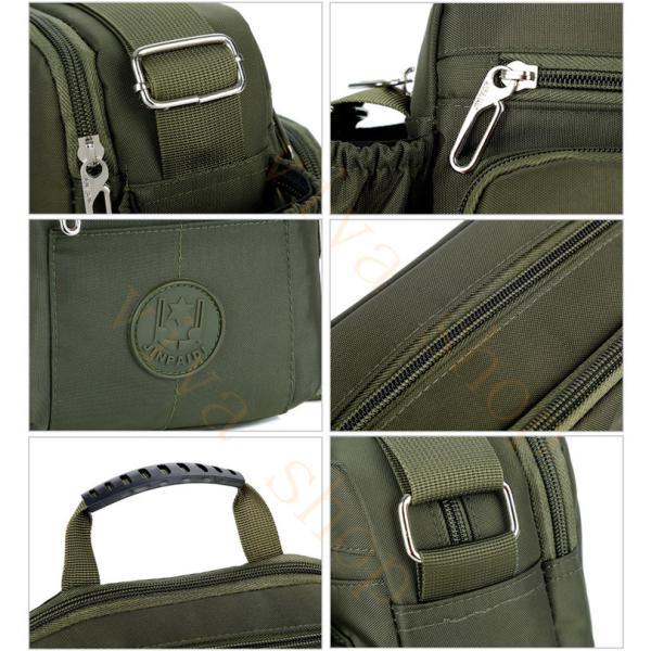 swisswin ショルダーバッグ ビジネスバッグ 大容量 メンズ バッグ レディース 斜めがけバッグ ミニショルダーバッグ 撥水 アウトドア 旅行 通勤 スクールバッグ viva-v1 12