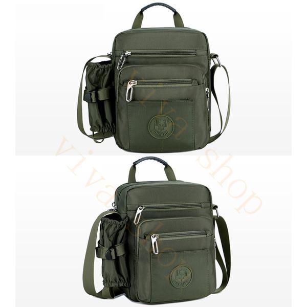 swisswin ショルダーバッグ ビジネスバッグ 大容量 メンズ バッグ レディース 斜めがけバッグ ミニショルダーバッグ 撥水 アウトドア 旅行 通勤 スクールバッグ viva-v1 06