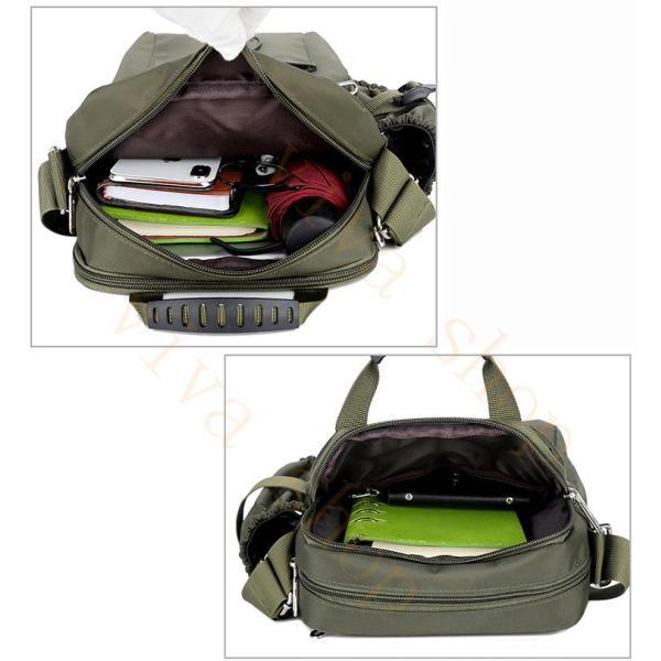 swisswin ショルダーバッグ ビジネスバッグ 大容量 メンズ バッグ レディース 斜めがけバッグ ミニショルダーバッグ 撥水 アウトドア 旅行 通勤 スクールバッグ viva-v1 07