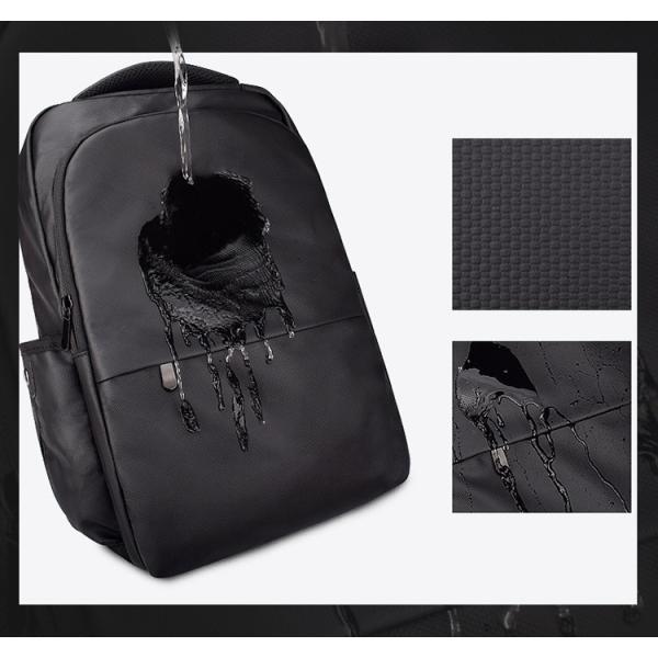 ビジネスバッグ メンズ ビジネスリュック リュック レディース リュックサック バッグ 鞄 大容量 撥水 登山 通学 旅行 収納 通勤用 多機能 軽量 大きめ swisswin|viva-v1|10