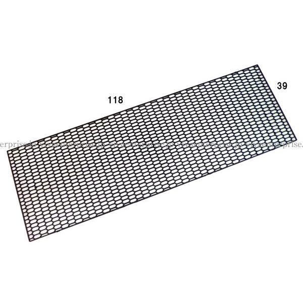 グリル メッシュネット ABS製 ABS樹脂 ユーロハニカムグリル メッシュネット黒 六角 エアロ加工等に|vivaenterplise|02