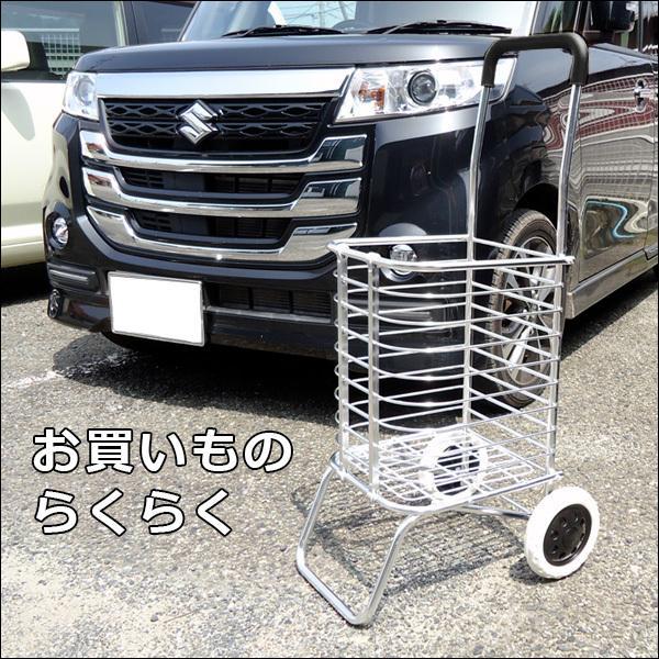 超軽量 アルミ製 ショッピングカート ワイヤーカート|vivaenterplise|03