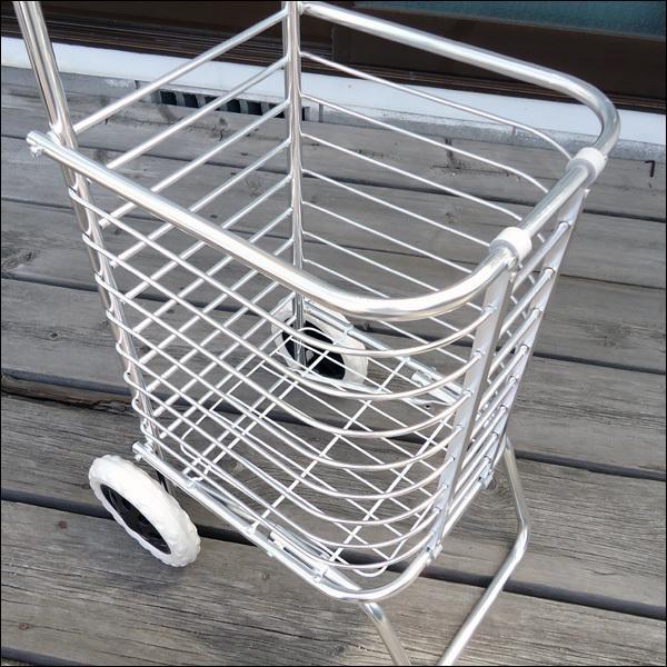 超軽量 アルミ製 ショッピングカート ワイヤーカート|vivaenterplise|05